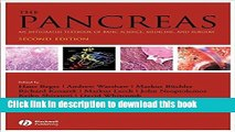 Books The Pancreas: An Integrated Textbook of Basic Science, Medicine, and Surgery (Beger, The