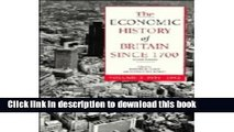 [Download] The Economic History of Britain since 1700: Volume 3, 1939-1992  Read Online