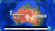 Sciences : depuis 1994, l'Australie s'est déplacée... d'1,5 mètres !