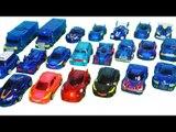 터닝메카드W 장난감 블루 터닝메카드 모음 Turningmecard  Blue Car toys