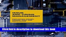 [Read  e-Book PDF] Issues and Crisis Management: Exploring Issues, Crises, Risk and Reputation