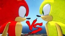 SONIC VS SONIC - Fire Sonic vs Super Sonic