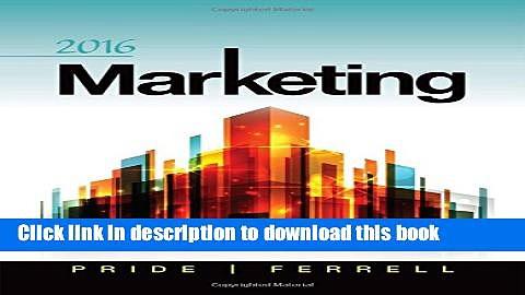[Read PDF] Marketing 2016 Ebook Free