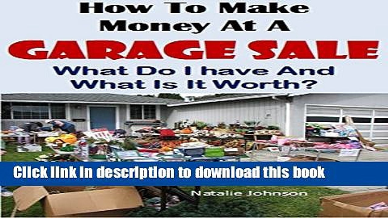 Amazing Download How To Make Money At A Garage Sale What Do I Have What Is It Worth Garage Sale Machost Co Dining Chair Design Ideas Machostcouk