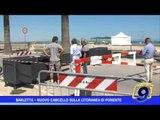 Barletta  | Nuovo cancello sulla litoranea di Ponente