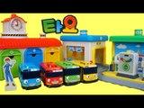 꼬마버스 타요 차고지 주유소 세차장 장난감 놀이 Tayo the little bus car toys Тайо Игрушки