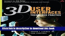 [Download] 3D User Interfaces: Theory and Practice (paperback)  Read Online