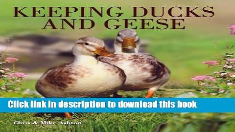 [Read PDF] Keeping Ducks   Geese Download Online
