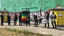 Les Bordelais de l'Ensemble National de Reggae au Reggae Sun Ska 2016