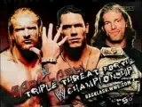 John Cena vs. Edge vs. Triple H Backlash 2006 - 1