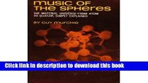 Books Music of the Spheres: The Material Universe From Atom to Quaser, Simply Explained (Volume