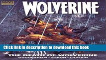 Ebook Wolverine: The Death Of Wolverine Premiere HC Free Download