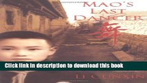 Read Mao s Last Dancer PDF Online