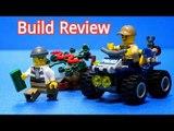 Lego City Police 60065 Police ATV Patrol - Car Toys Build Review 레고 장난감