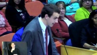 TN Student Speaks Out About Common Core, Teacher Evaluations, and Educational Data