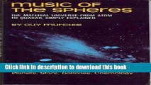 Ebook Music of the Spheres: The Material Universe from Atom to Quasar, Simply Explained; VOLUME I,