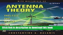 PDF] Antenna Theory and Design Free Books - video dailymotion