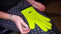 Best Rated  AYL Silicone Cooking Gloves - Heat Resistant Oven Mitt for Grilling, Review