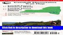 Books Catskill Mountains Trail Map: Catskill Forest Preserve (East) / Catskill Forest Preserve