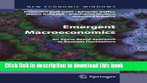 [Read PDF] Emergent Macroeconomics: An Agent-Based Approach to Business Fluctuations (New Economic