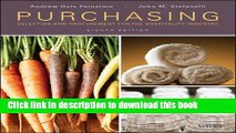 Download Purchasing: Selection and Procurement for the Hospitality Industry Free Books