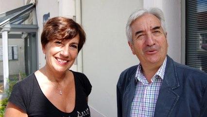 Alain Chapy et laurence Chicois présentent Néris-Les-Bains