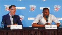 Russell Westbrook s'exprime enfin sur le départ de Kevin Durant