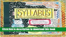 [PDF] Syllabus: Notes from an Accidental Professor Online Book