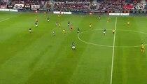 Santi Cazorla Gets Injured HD - Viking 0-1 Arsenal