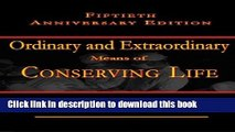 Ebook Ordinary and Extraordinary Means: Fiftieth Anniversary Issue Free Online