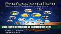 Books Professionalism: Skills for Workplace Success Plus NEW MyStudentSuccessLab -- Access Card