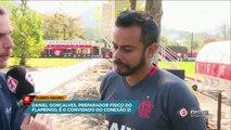 Preparador físico do Flamengo fala sobre Diego
