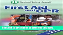 Books First Aid and CPR (First Aid and CPR: Web Enhanced Edition) Full Online