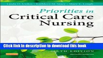 [PDF] Priorities in Critical Care Nursing, 6e (Urden, Priorities in Critical Care Nursing) Read