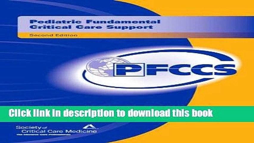 [PDF] Pediatric Fundamental Critical Care Support Read Online