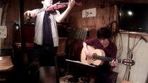 [Live] 『真田丸』 NHK大河ドラマより  ドルフィンカフェ (Guitar:YOSHINORI TANAKA 田中佳憲 Violon:竹内章人)