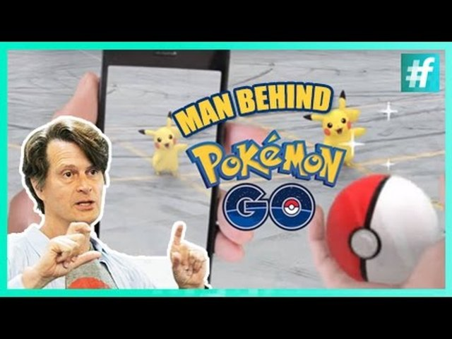 "Man behind ""Pokemon Go"""
