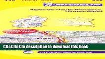 Ebook Michelin FRANCE Alpes-de-Haute-Provence, Hautes-Alpes Map 334 Free Download