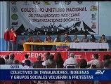 Organizaciones sociales, indígenas y de trabajadores retomarán protestas contra Gobierno