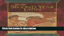 Ebook JENNEY S SECOND YEAR LATIN GRADES 8-12 TEXT 1990C Free Online