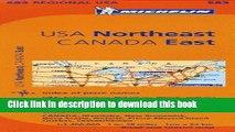 Books Michelin USA: Northeast, Canada: East / Etats-Unis: Nord-Est, Canada: Est Map 583 Full