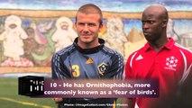 Celeb Life - David Beckham Top 10 Fun Facts