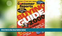 Big Deals  Consumer Reports Buying Guide 2000 (Consumer Reports Buying Guide Issue, 2000)  Best