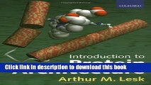 Ebook Introduction to Protein Architecture: The Structural Biology of Proteins Full Online