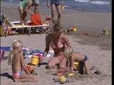Plage mer Mediterranee camping serignan plage