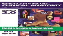 Ebook McMinn s Interactive Clinical Anatomy CD-ROM Version 2.0: (Windows and Mac) Full Download