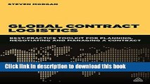 PDF Global Contract Logistics: Best Practice Toolkit for