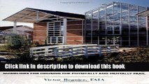 Ebook Design for Assisted Living: Guidelines for Housing the Physically and Mentally Frail Full