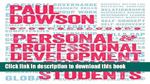 Download  Personal and Professional Development for Business Students  Free Books