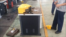 fixed angle notching machine , hydraulic angle notcher machine